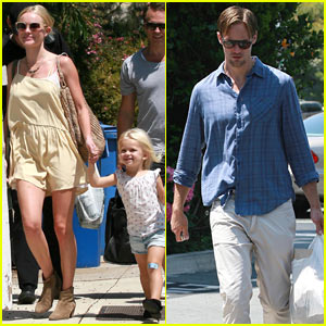 Kate Bosworth: Fourth of July with Alexander Skarsgard!