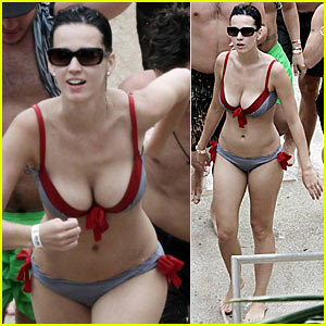 Katy Perry: Bikini in the Bahamas!