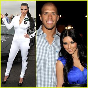 Kim Kardashian: ESPYs Party with Miles Austin!