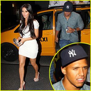 Kim Kardashian & Miles Austin: Dinner Date