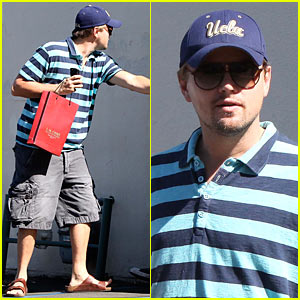 Leo DiCaprio: Auction House Stop!