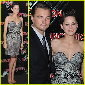 Leo DiCaprio & Marion Cotillard: 'Inception' Paris Premiere!