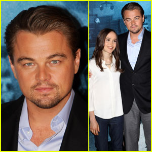 Leonardo DiCaprio & Ellen Page Invade Dreams in London