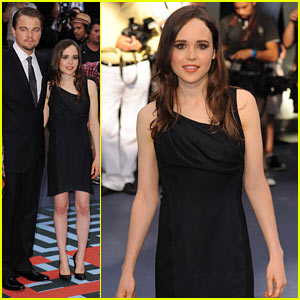 Leonardo DiCaprio & Ellen Page: 'Inception' UK Premiere!