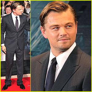 Leonardo DiCaprio: 'Inception' Premiere in Japan!