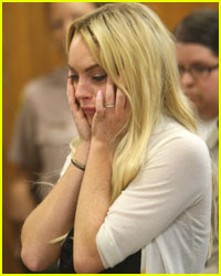 Lindsay Lohan: All By Herself In Solidarity