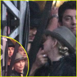 Madonna Kisses Jesus at Jay-Z Concert