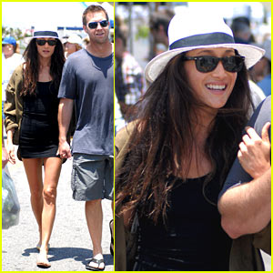 Maggie Q: Vegetable Basket To-Go!