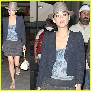 Marion Cotillard: 'Hooked' by Inception Script!
