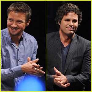 Mark Ruffalo is Hulk, Jeremy Renner is Hawkeye