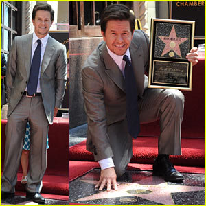 Mark Wahlberg: Hollywood Walk of Fame Star!