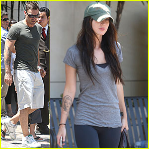 Megan Fox: Cheesecake Factory with Brian Austin Green!