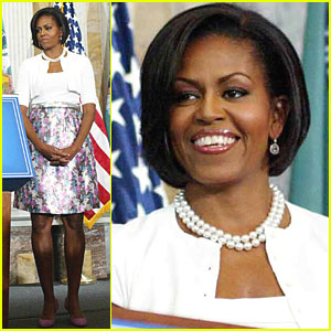 Michelle Obama Thanks Treasury Department