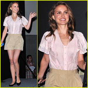 Natalie Portman Makes Comic-Con Fans Go Crazy