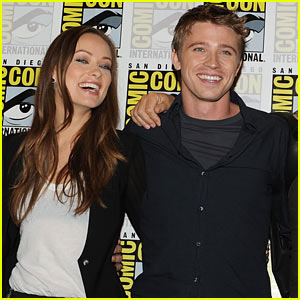 Garrett Hedlund & Olivia Wilde: TRON at Comic-Con!