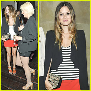 Rachel Bilson: Vanessa Bruno VIP Fashion Dinner!