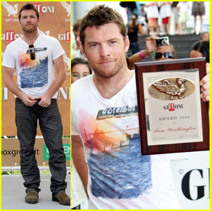 Sam Worthington Gets Honored At Giffoni