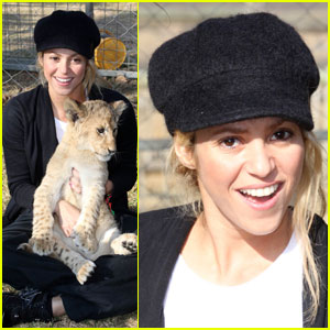 Shakira Gives Lions Share Of Love