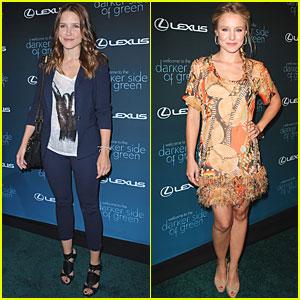 Kristen Bell & Sophia Bush: Darker Side of Green Gorgeous