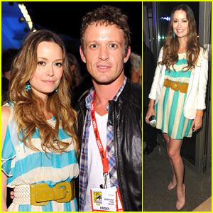 Summer Glau & David Lyons: Comic-Con Caped Crusaders
