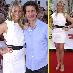 Tom Cruise & Cameron Diaz: Munich Mates