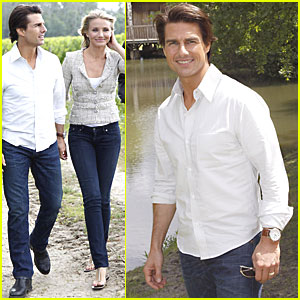 Tom Cruise & Cameron Diaz: Fun in France!