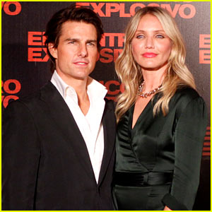 Tom Cruise & Cameron Diaz: 'Knight & Day' Premiere in Rio!