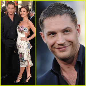 Tom Hardy: Inception Premiere with Charlotte Riley!