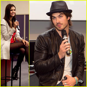 Vampire Diaries Cast: G'Day, Melbourne!