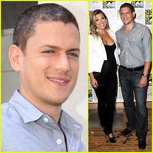 Wentworth Miller: Comic-Con with Ali Larter!