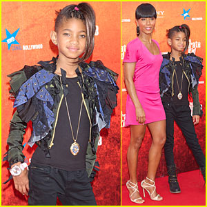 Willow Smith's Safety Pin Earrings -- HOT or NOT?