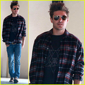 Zac Efron: Casual Dress for Business Meeting