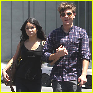 Zac Efron & Vanessa Hudgens: Rent Lunch!
