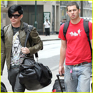 Adam Lambert & Neil Visit The City of Brotherly Love!