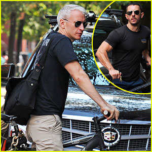 Anderson Cooper &#038; Ben Maisani: Bike Buds