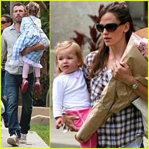 Jennifer Garner & Ben Affleck: Family Farmers Market Trip!