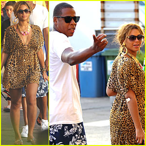 Beyonce & Jay-Z: Italian Vacation!