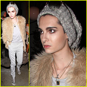 Bill Kaulitz Hits STK Steakhouse