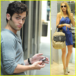 Blake Lively: Big Apple Break with Penn Badgley!