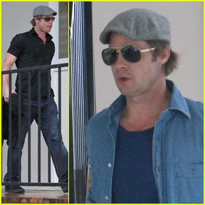 Brad Pitt Checks Up On New Orleans