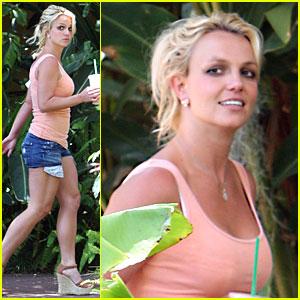 Britney Spears: Pocket Peek-a-Boo!