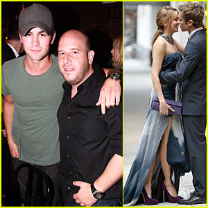 Chace Crawford & Katie Cassidy: Kissing Couple!