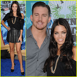 Channing Tatum: Teen Choice Awards with Jenna Dewan!