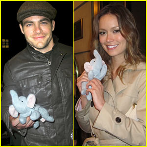 Chris Pine & Summer Glau Support The Elephant Project