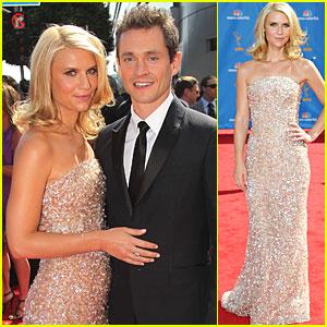 Claire Danes & Hugh Dancy - Emmys 2010 Red Carpet