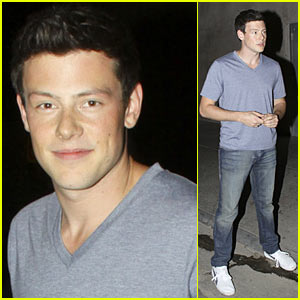 Cory Monteith: Las Palmas Party