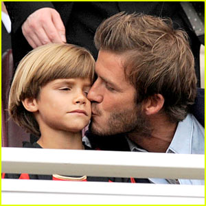 David Beckham: Wherefore Art Thou Romeo's Kiss?