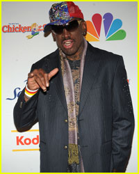 Dennis Rodman Okay After Huge Car Accident