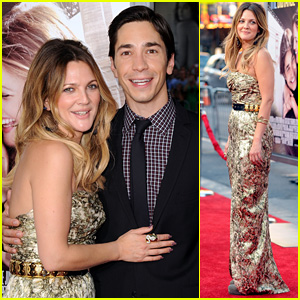Drew Barrymore & Justin Long Premiere 'Going the Distance'
