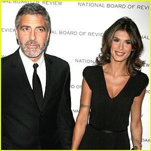 Elisabetta Canalis Talks Romance with George Clooney